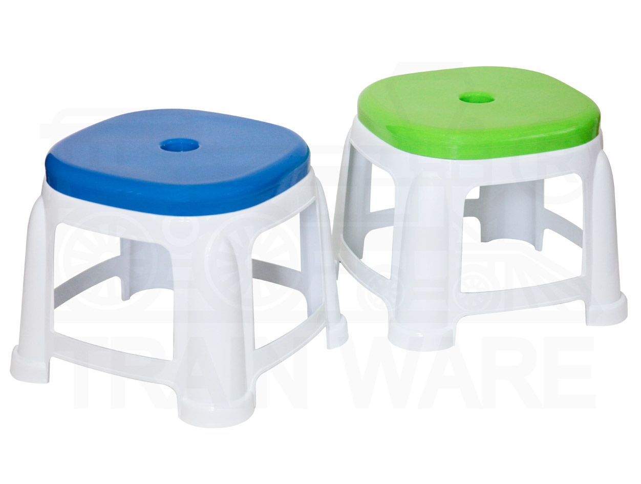 Rectangle plastic chair