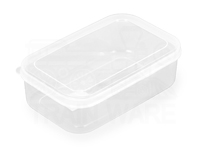 Rectangle plastic food reserve container