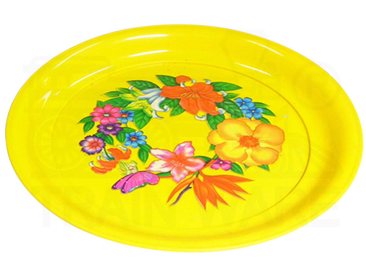 Small-Large yellow tray
